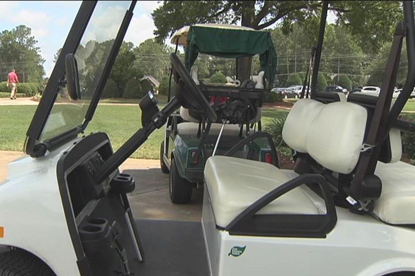 DCP hears golf cart complaints on street signs, street atv, street go cart, harley carts, street shoes, custom ezgo industrial carts, cricket carts,