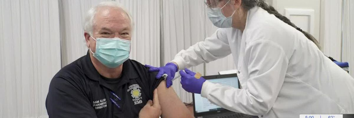 Dougherty Co. EMS gets COVID-19 vaccine