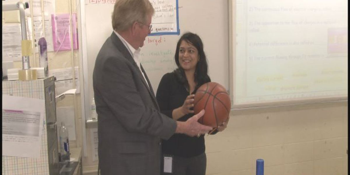 Dougherty County teachers are recognized in the classroom