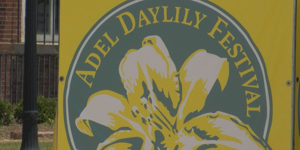 WALB broadcasts Adel live newscast on eve of daylily festival