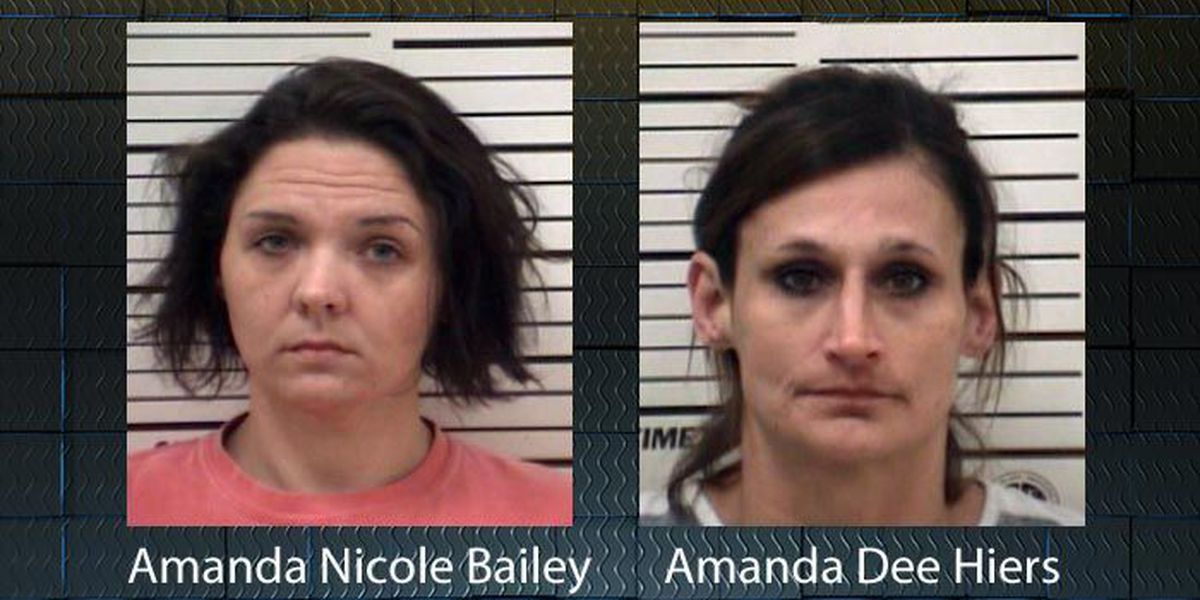 Two Coffee women charged with drug possession