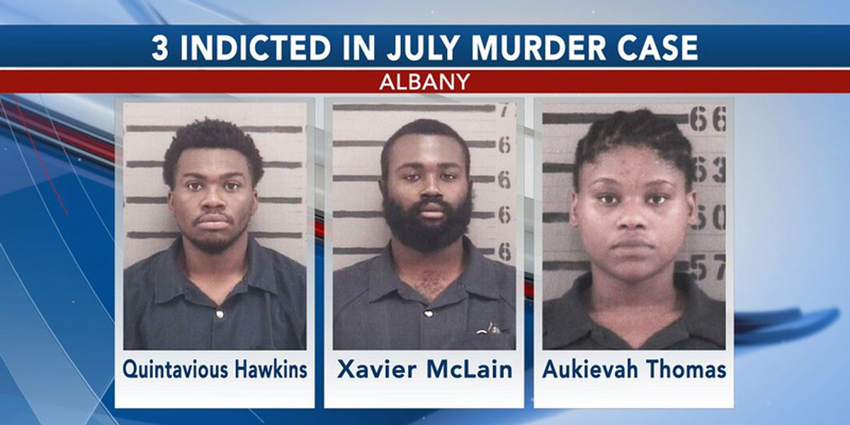 3 indicted in July Albany murder case