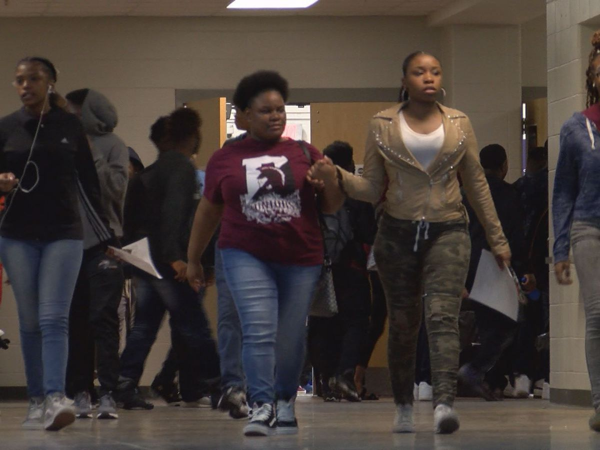 Dougherty High students experience expand learning for Career Day