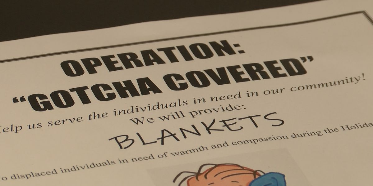 Thomasville peer recovery center to hand out blankets to homeless