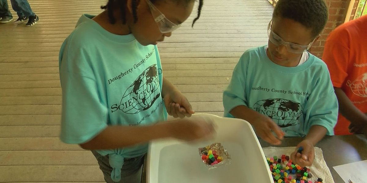 Dougherty Co. students compete in Science Olympiad