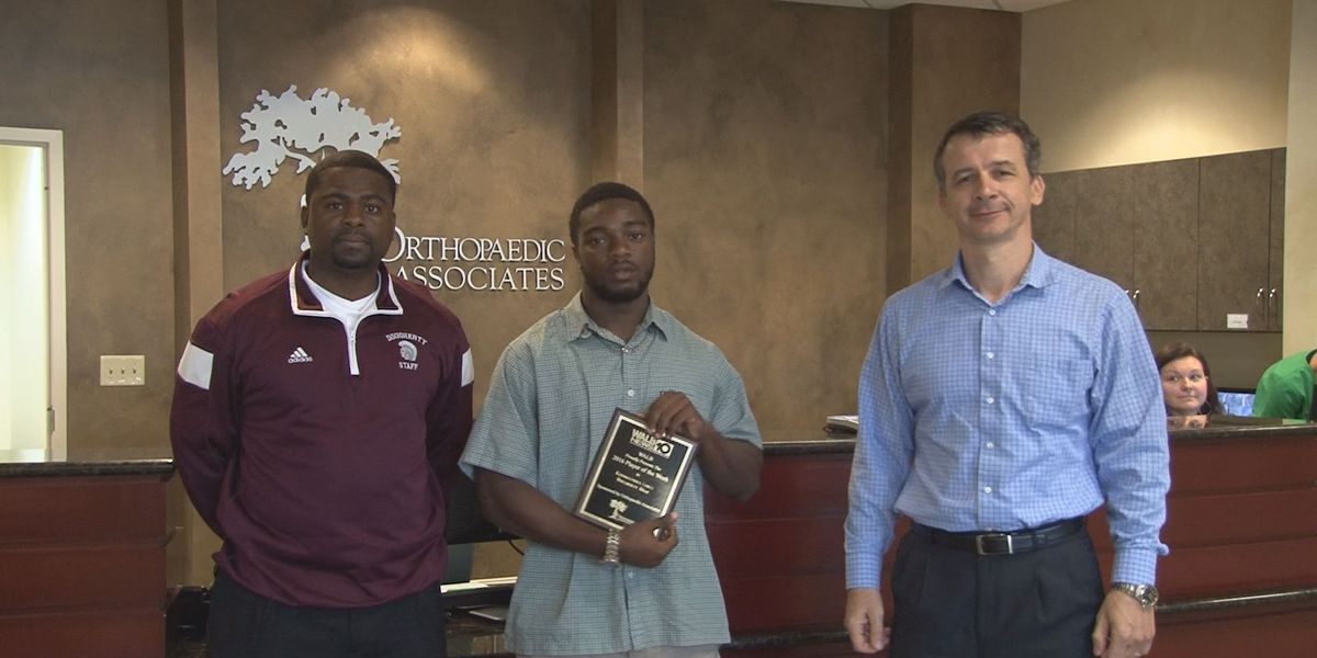 WALB ALBANY AREA PLAYER OF THE WEEK: (10/12/16) Dougherty's Cobey cracks down on Tornadoes