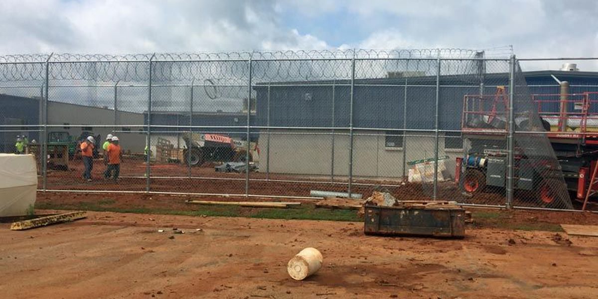 New detention center takes shape