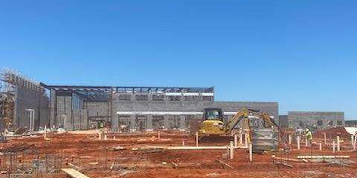 Construction continues on new Sumter Co. High School