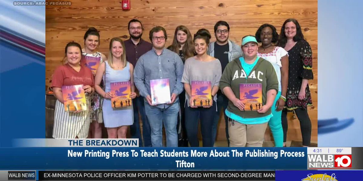 The Breakdown: New Printing Press to teach students more about The Publishing Process