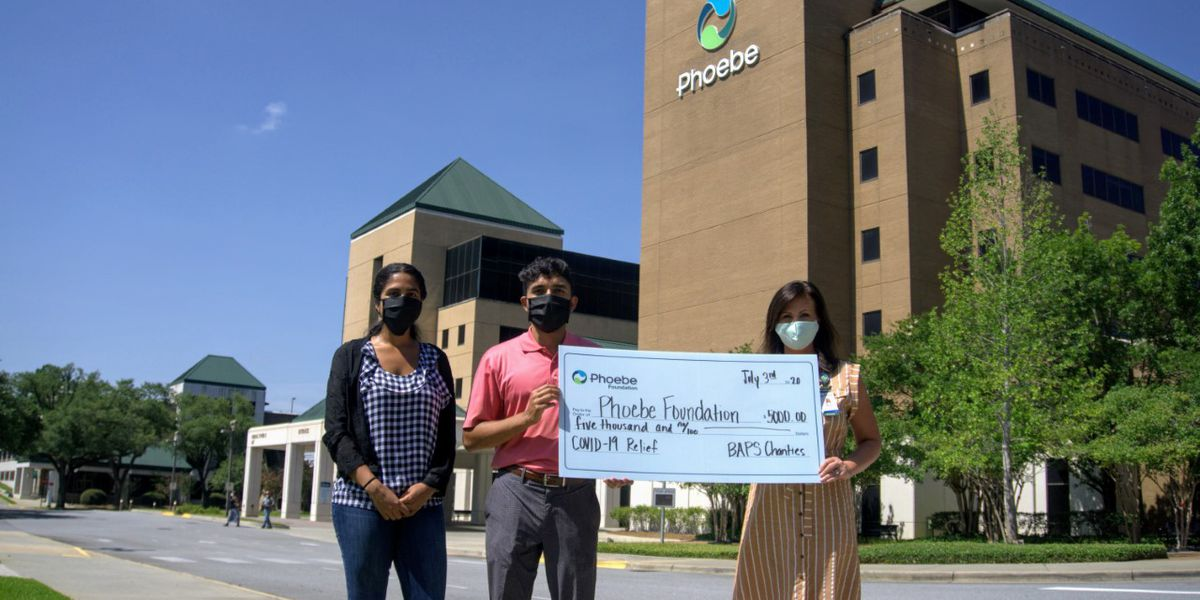 Phoebe Foundation's COVID-19 relief fund gets $5K donation