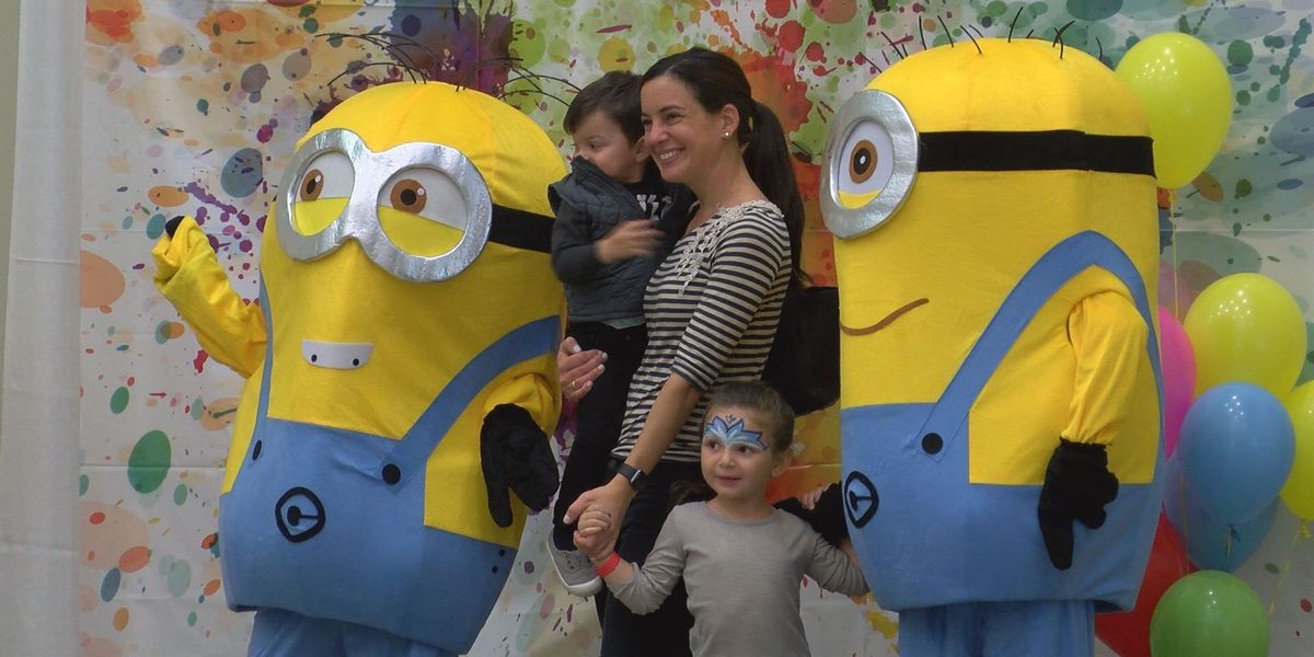 Character brunch raises funds for two causes