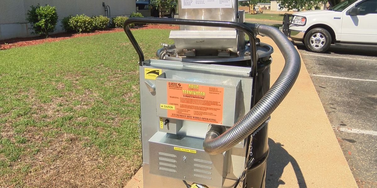 Early Co. Sheriff's Office gets drug incinerator