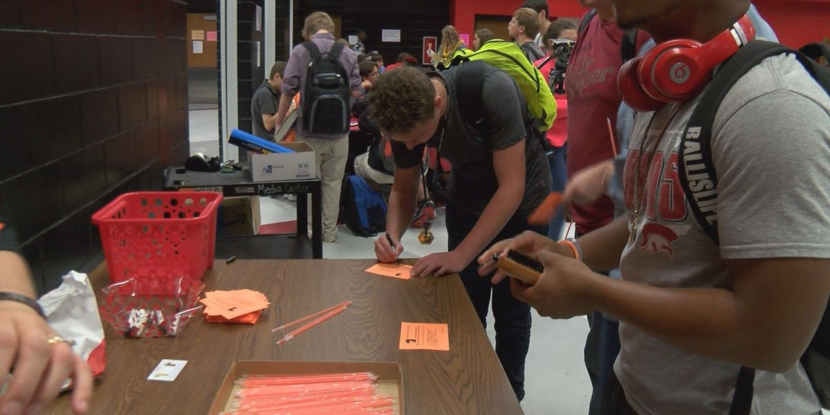Lee County High School students unite to stand against bullying