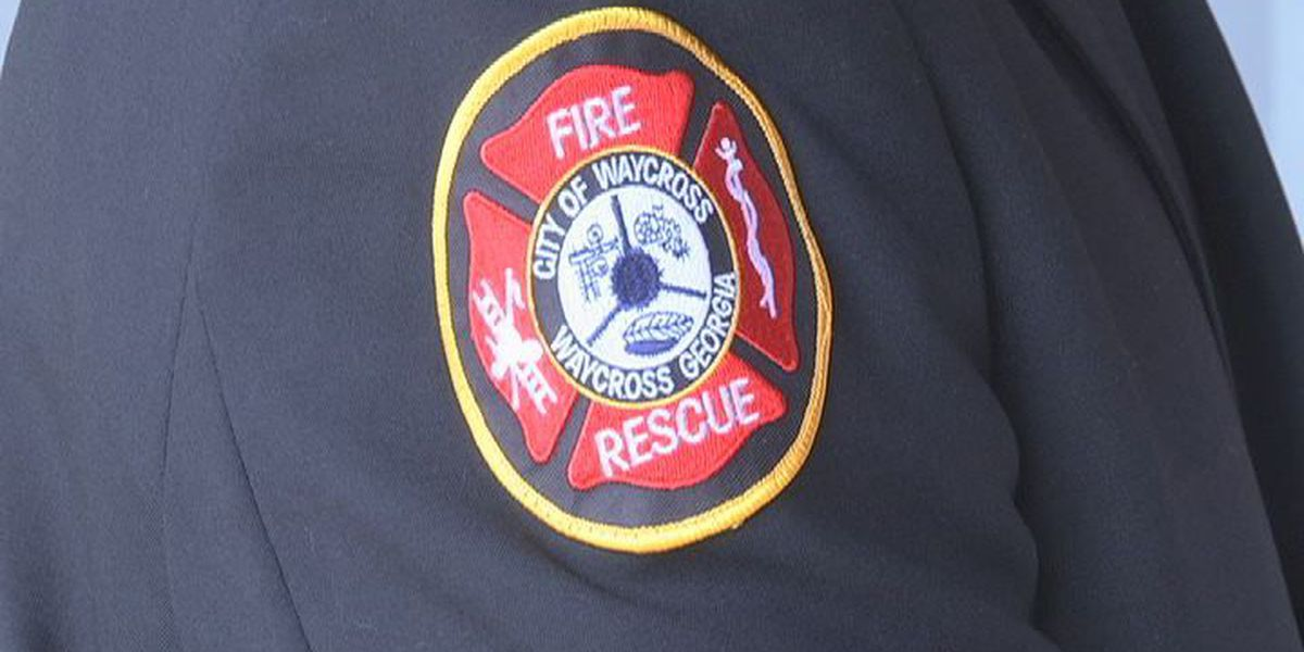 Waycross fire chief gets recognized as chief of the year
