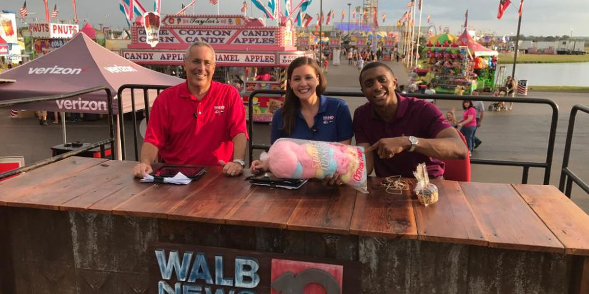 WALB News 10 thanks everyone we met at the Georgia National Fair