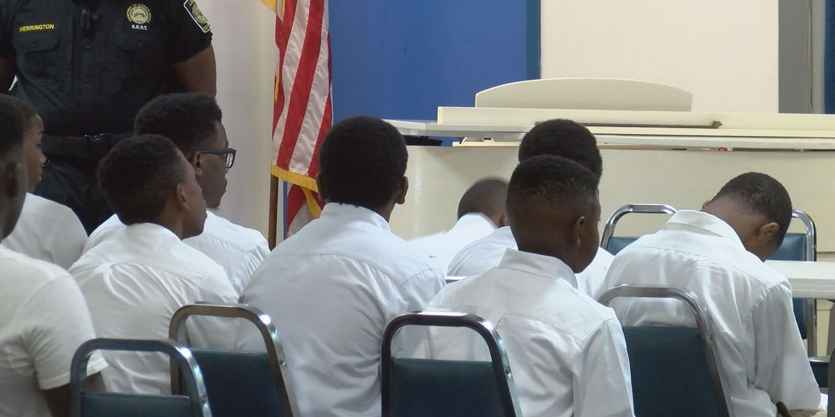 Omega Psi Phi Fraternity hosts youth leadership conference