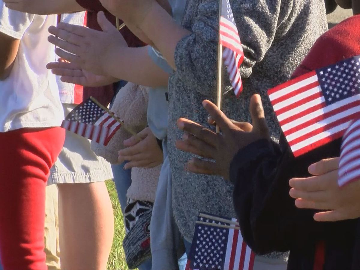 Lowndes Co. school hosts Veterans Day parade