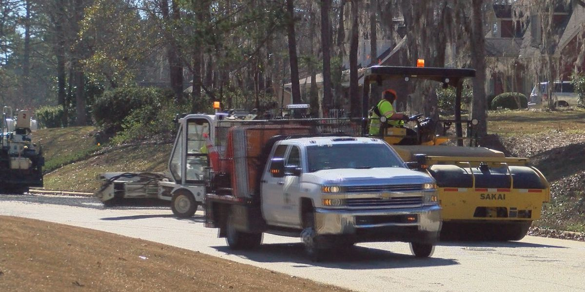 Lee Co. TSPLOST paving, resurfacing projects begin