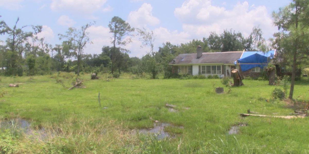 Storm survivor seeks help for home repairs