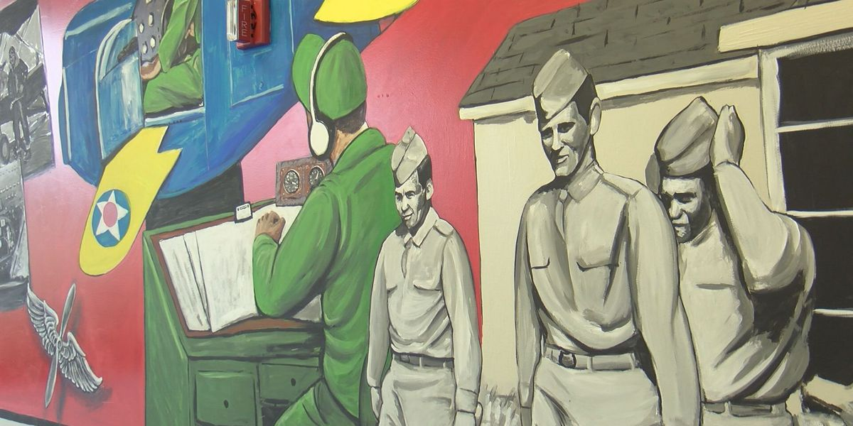 New mural takes you through history in the Douglas Municipal Airport