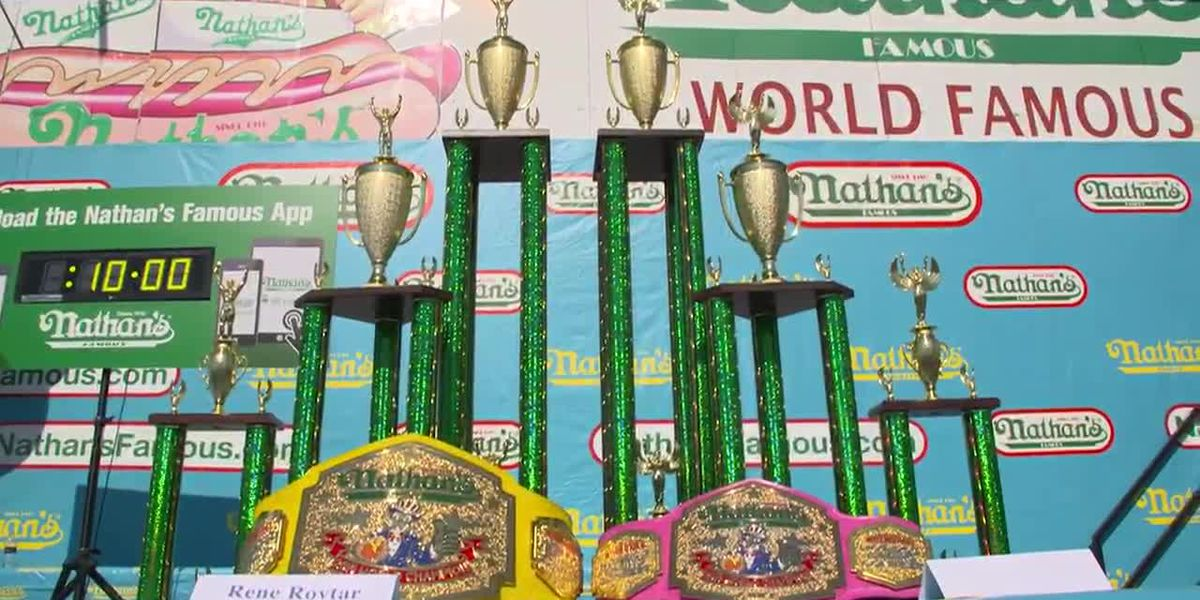 Nathan's July 4 hot dog eating contest forges on despite coronavirus