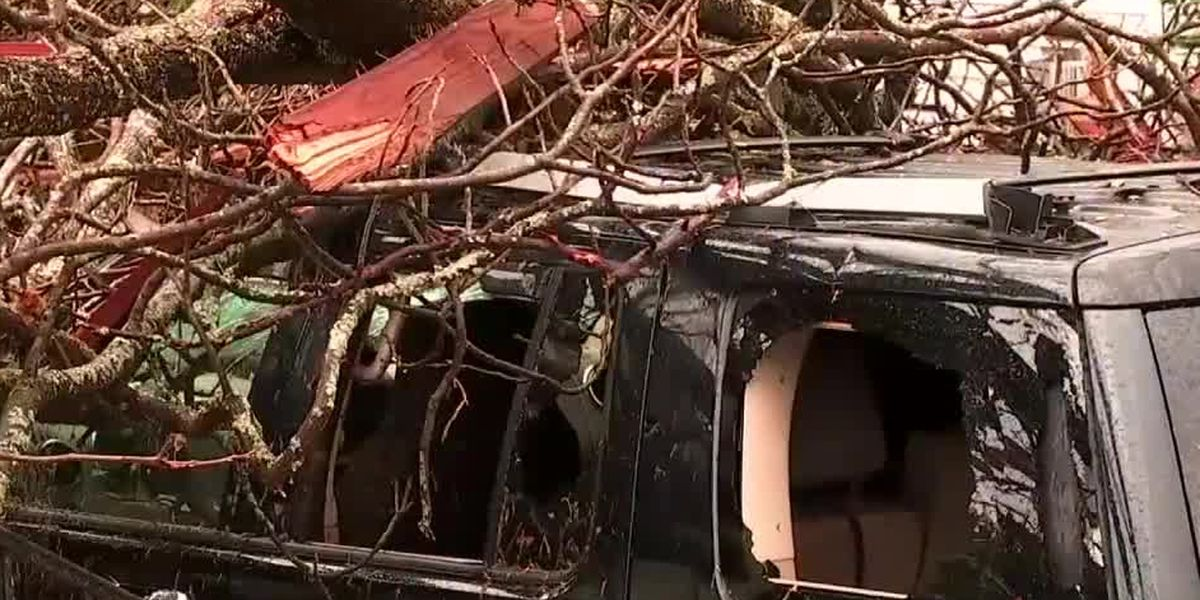City of Newnan work to recover after tornado