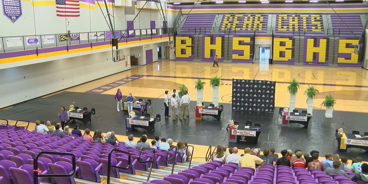 Bainbridge Celebrates Nine Seniors in Signing Ceremony