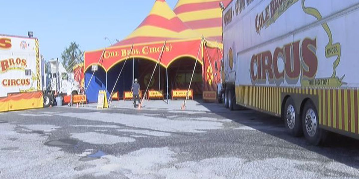 Circus comes to town in Valdosta