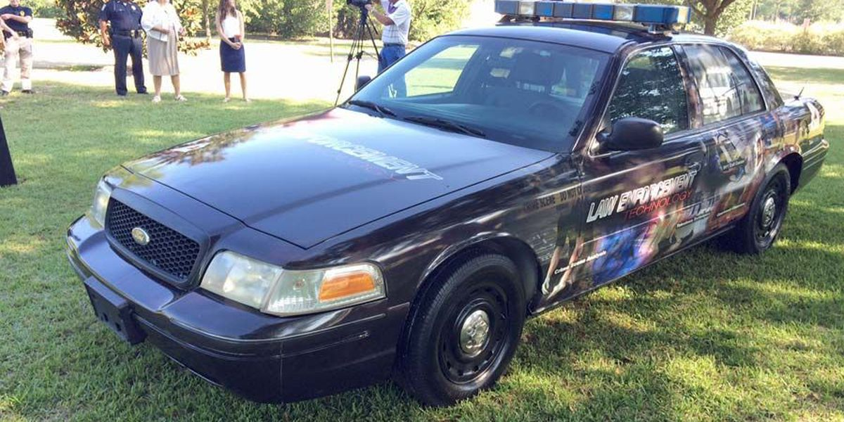 Albany Tech takes delivery of donated police cruiser