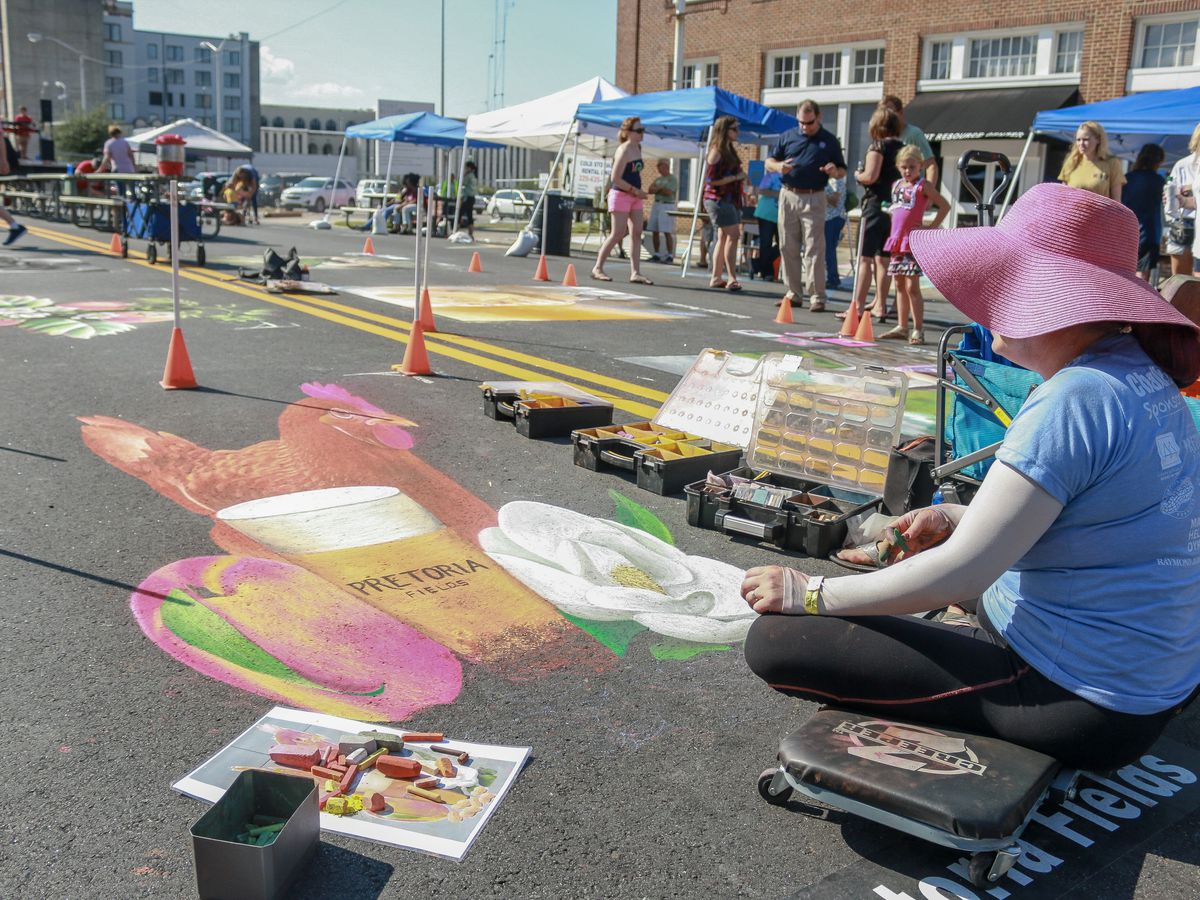 Downtown Albany set to host AMA Chalkfest