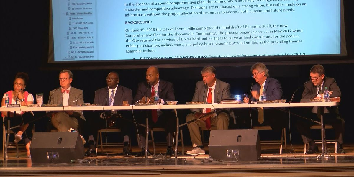 Thomasville officials in midst of city manager search