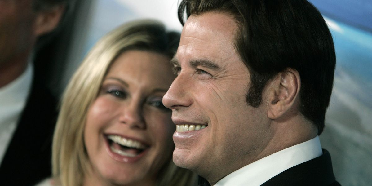 John Travolta, Olivia Newton-John are back together as Danny and Sandy