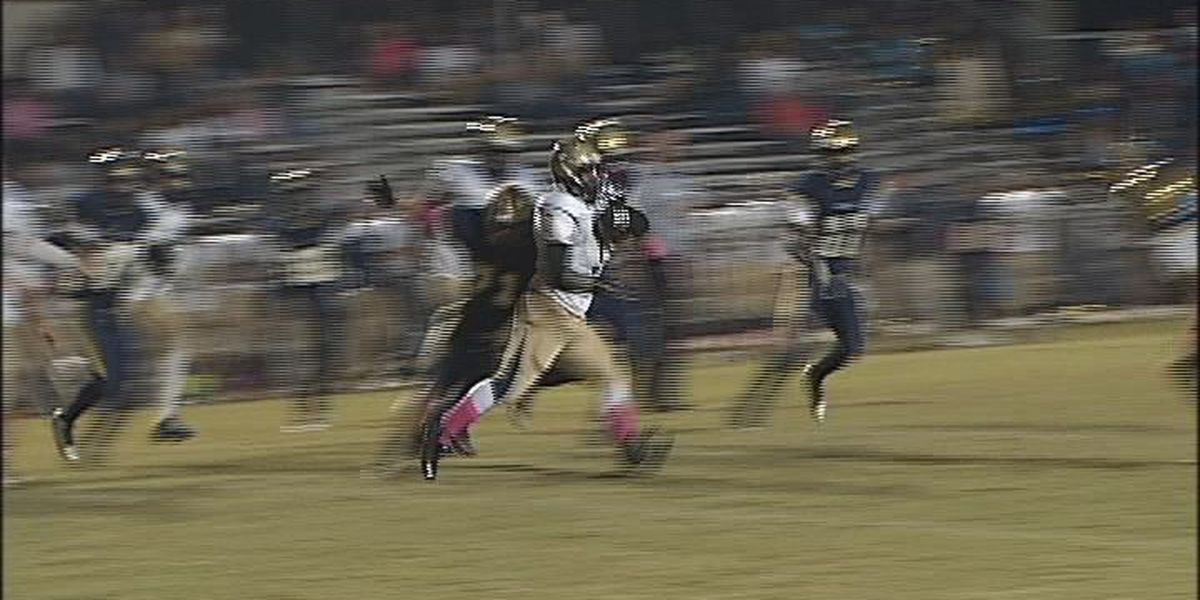 WALB PLAY OF THE WEEK (10/20/14): Early Co.'s Tolbert shows off power and speed