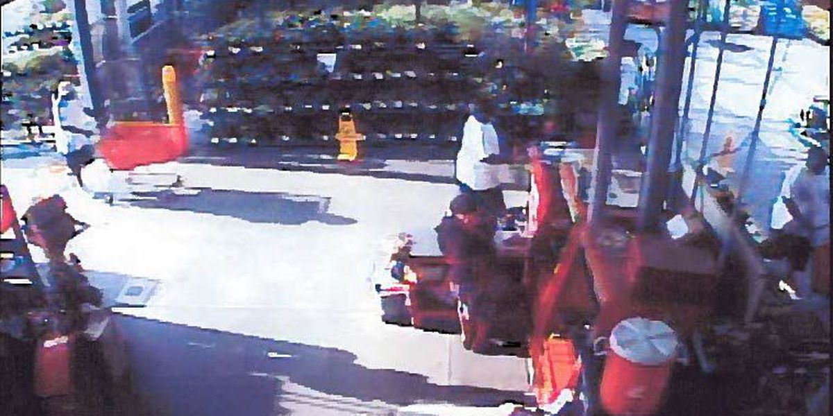 Police search for Home Depot shoplifters