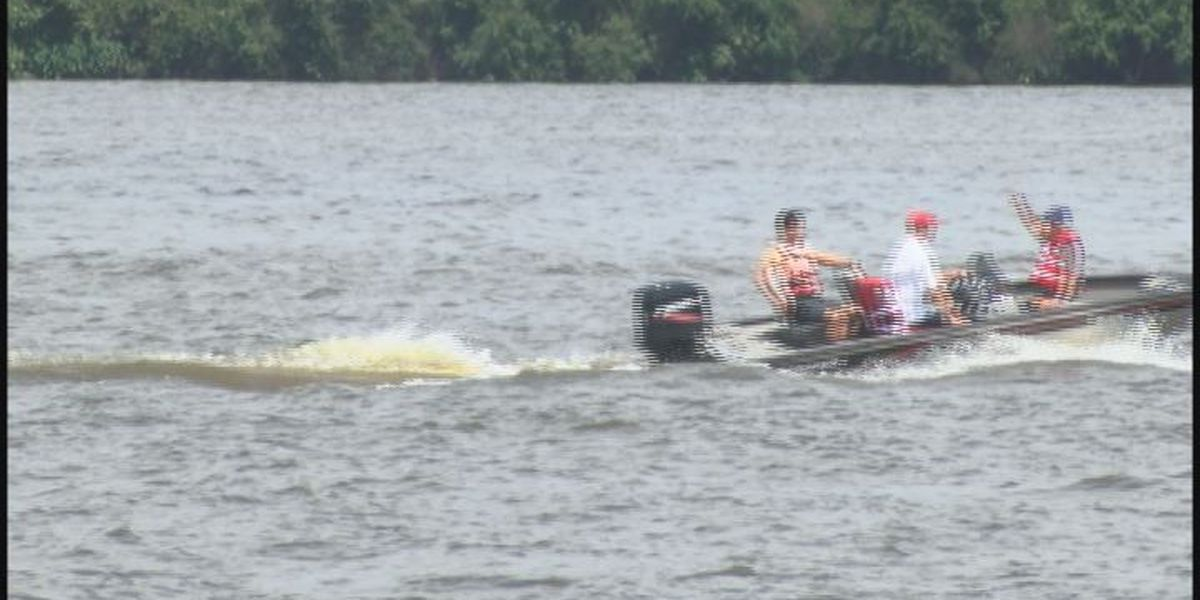 Boaters spent Monday on the lake following the rules