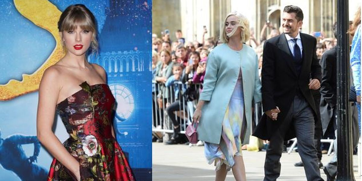 Taylor Swift sends embroidered baby blanket to Katy Perry's baby daughter