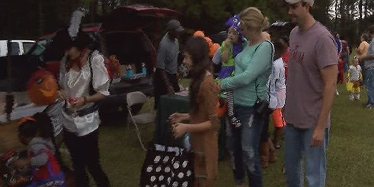 YMCA hosts first 'Trunk or Treat' event