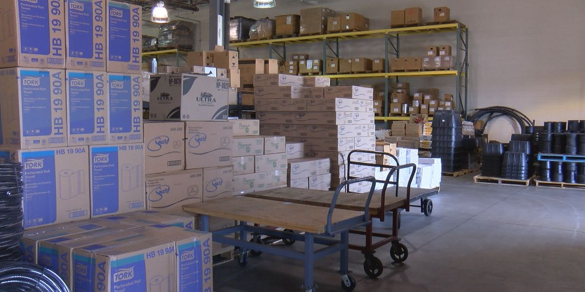 Albany warehouse proves vital during Hurricane Michael