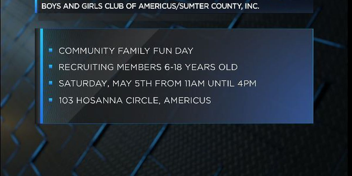 Americus Boys & Girls Club to hold family fun event