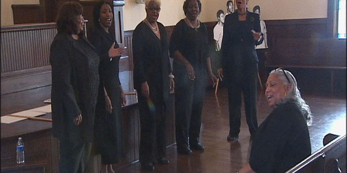 Freedom singers honor black history month