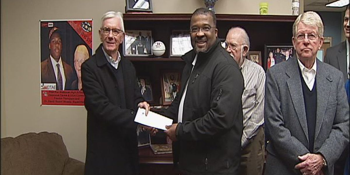 Donation helps DCSS fight drugs in schools