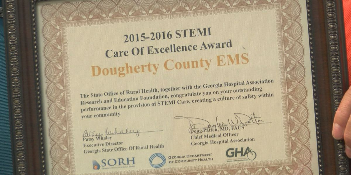 Dougherty County EMS earns care excellence award
