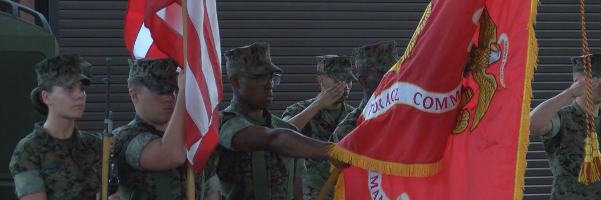 New Marine Force Storage Command activated and ready to assist on global scale