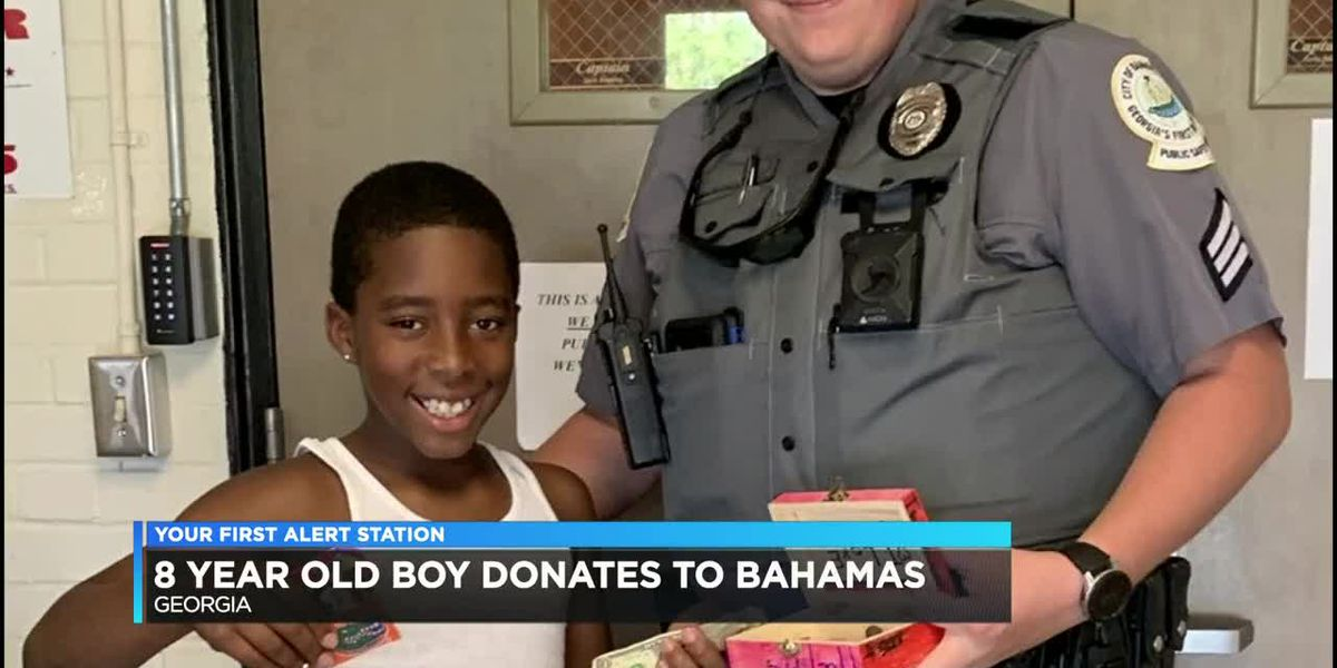 Good News: 8-year-old saves money to send to the Bahamas after Hurricane Dorian