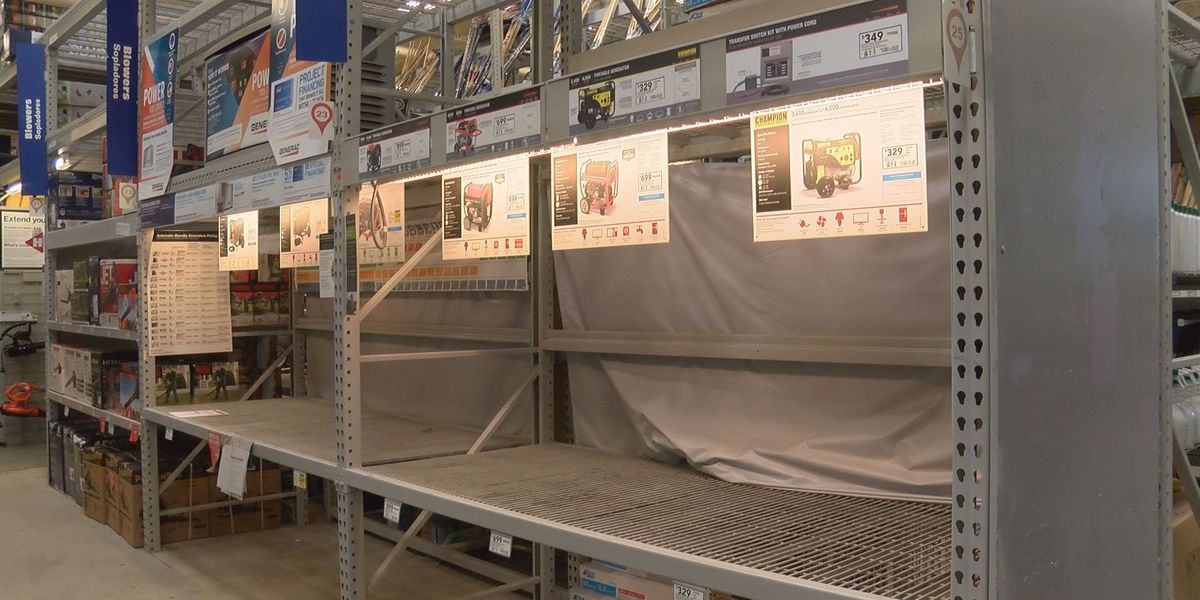 Lowe's in Tifton sells out of emergency supplies