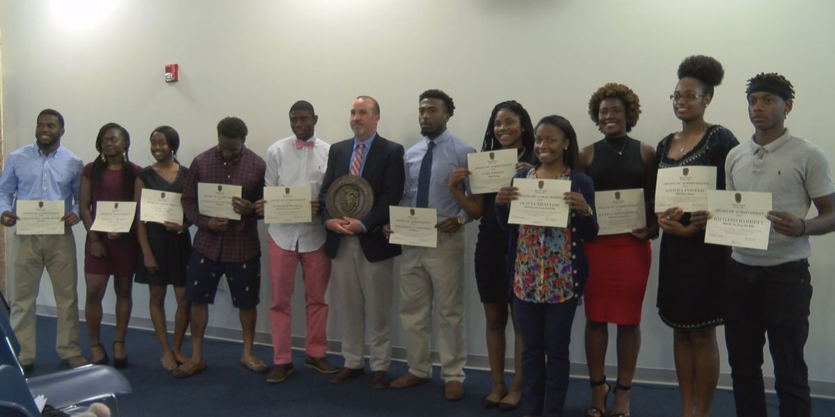 12 students inducted into athletic honor society