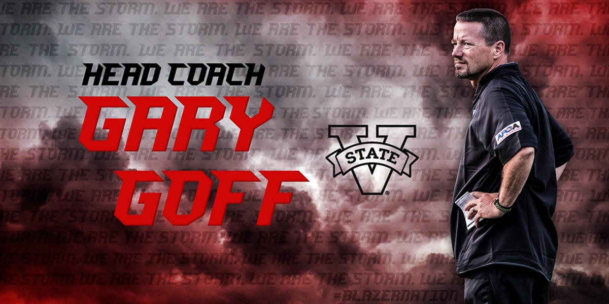 Gary Goff Named Valdosta State Head Football Coach