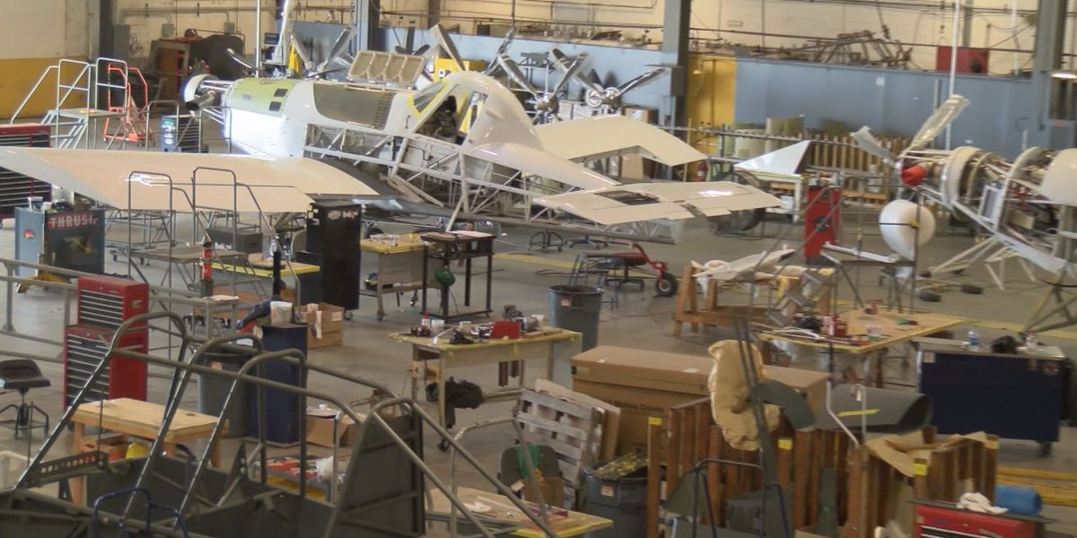 Aerospace manufacturing booms in 2017, including at Thrush Aircraft