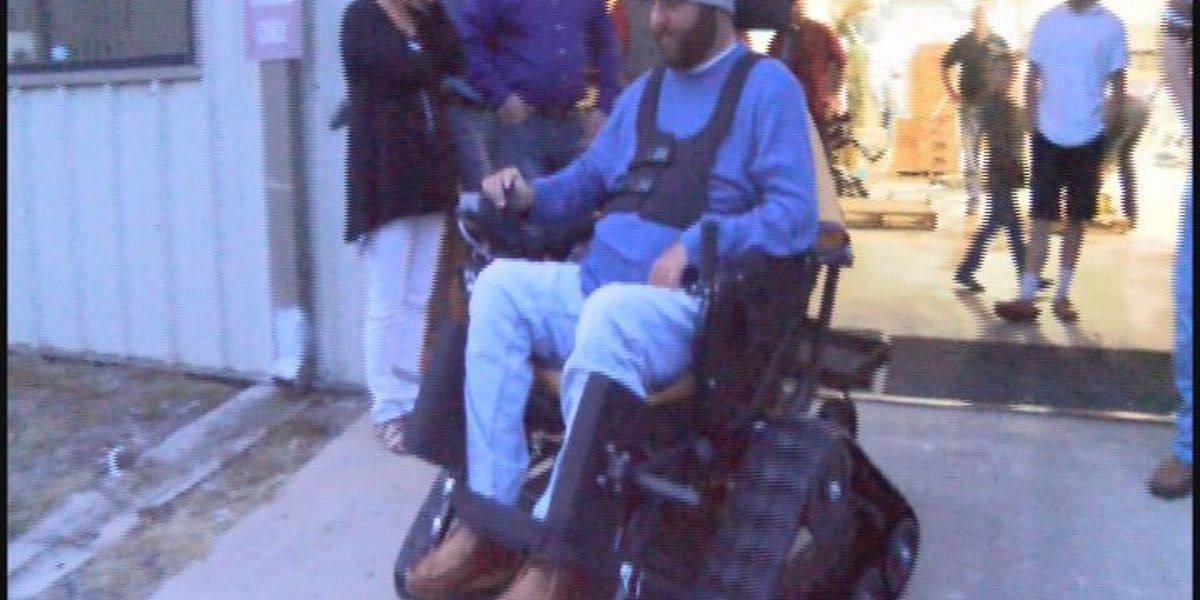 South Georgia paralyzed hunter receives action track chair
