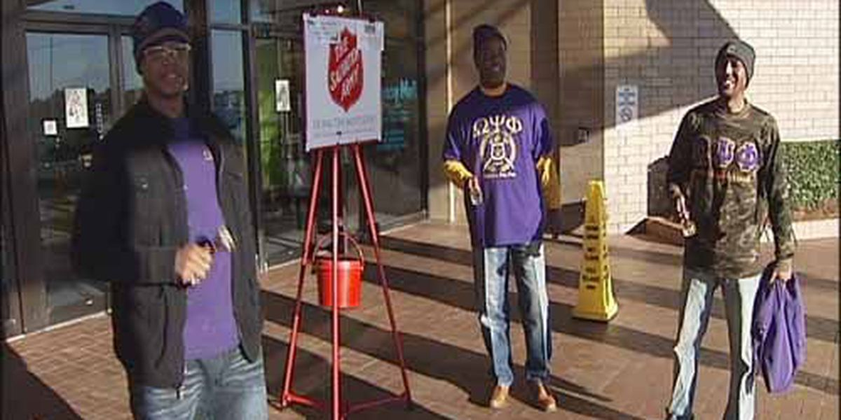 Fraternity rings bells for those in need